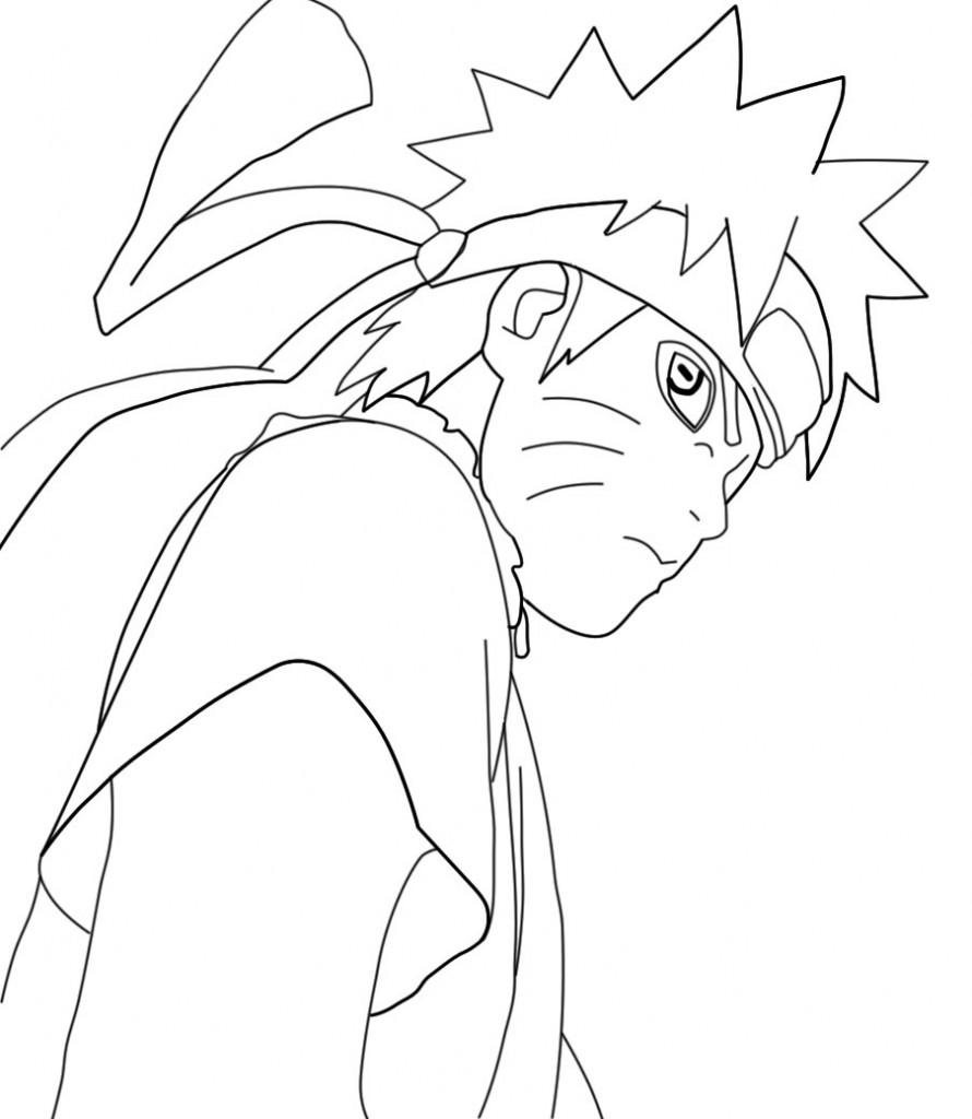 Coloriage Naruto en ligne