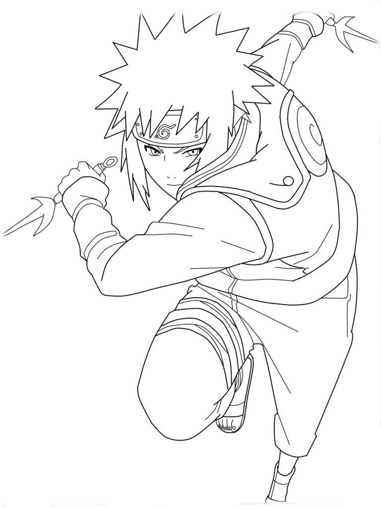 Coloriage Naruto à imprimer pour les enfants