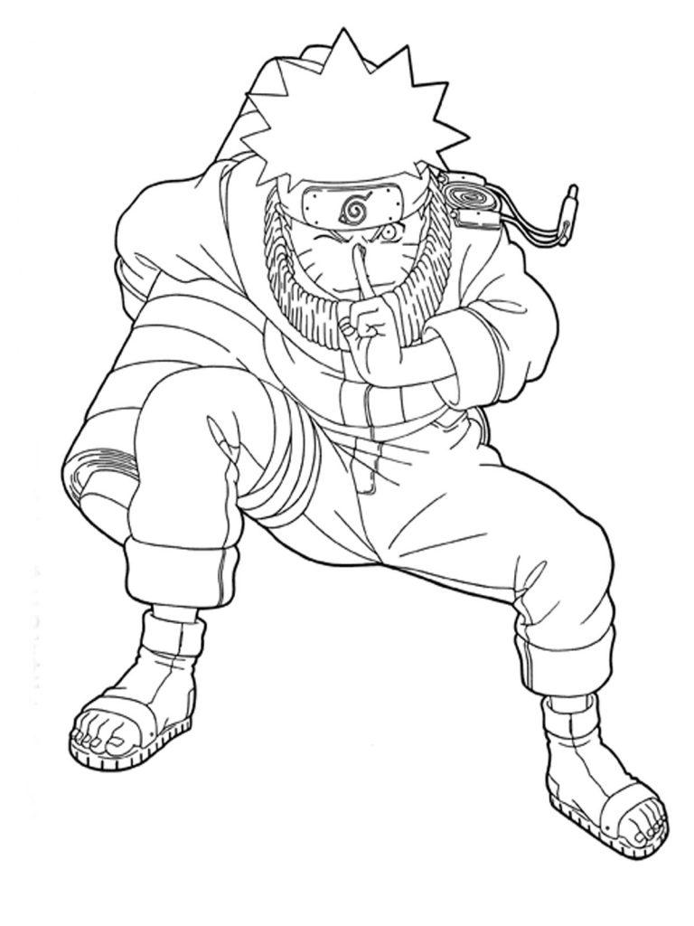 Coloriage Naruto à imprimer