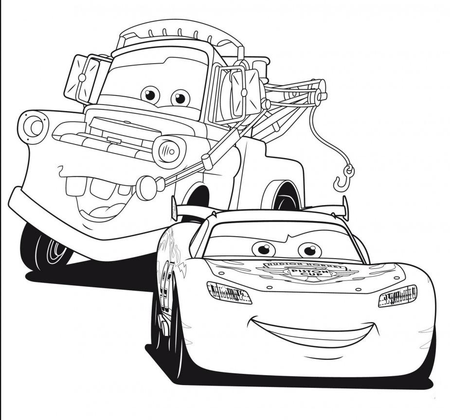 Coloriage de voitures à imprimer