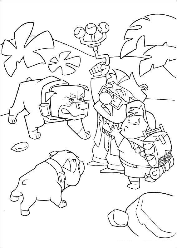 Coloriage chiens