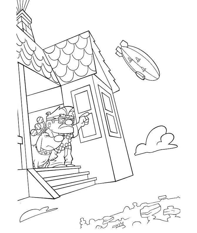 Télécharger Free Up Coloring Page