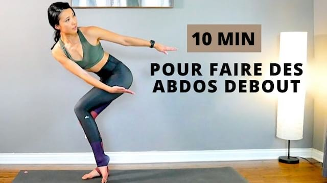 6 exercices faciles à faire en restant debout