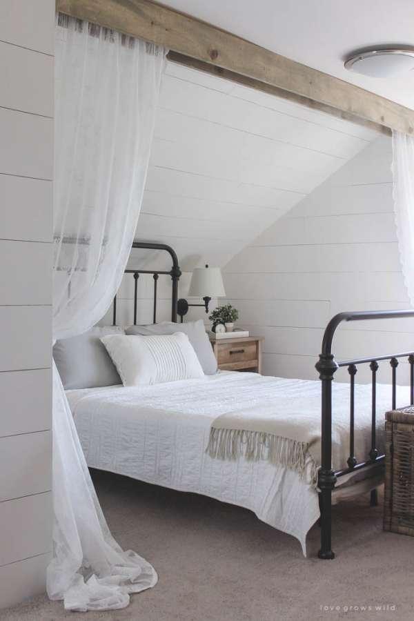 Ajoutez un aspect rustique à votre chambre