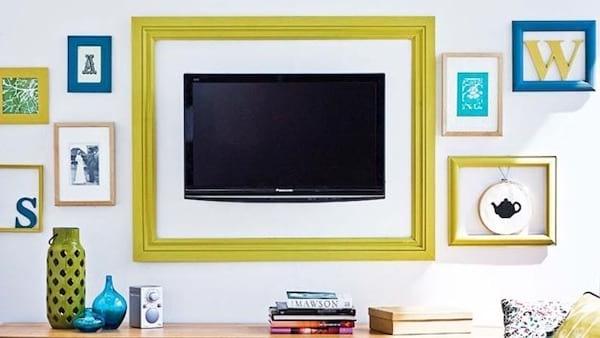Ajoutez un cadre coloré autour de votre télé