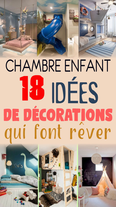Chambre enfant: 18 idées de décorations qui font rêver