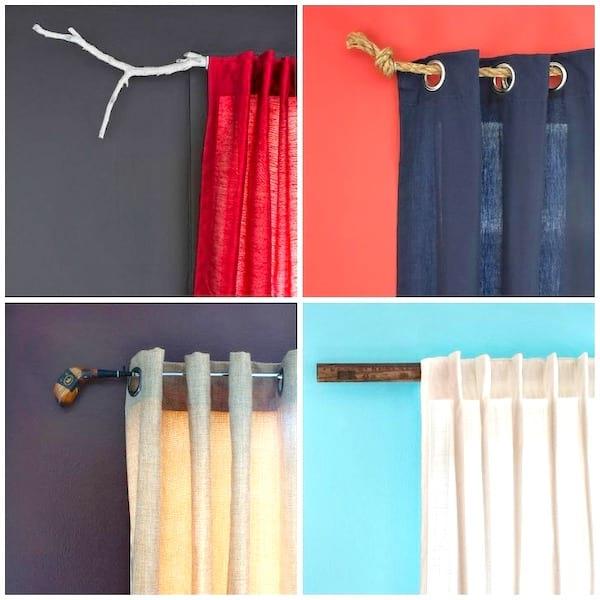 Choisissez une tringle à rideaux originale pour donner du cachet à une pièce