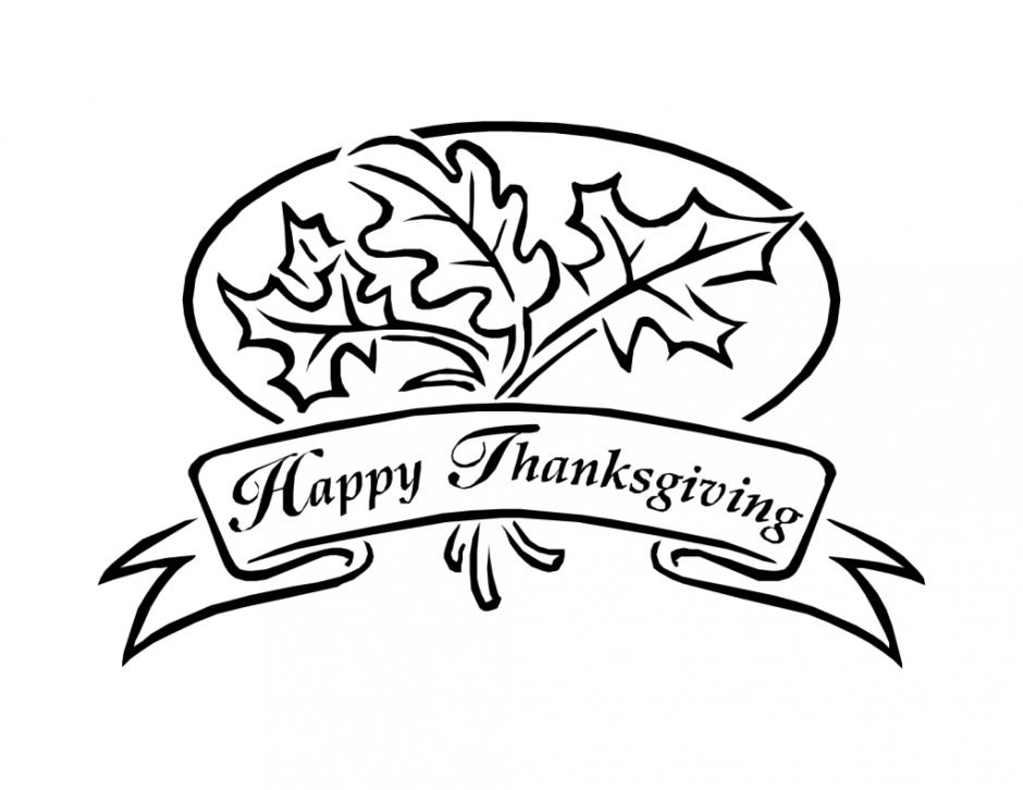 Bannière de feuilles de joyeux Thanksgiving