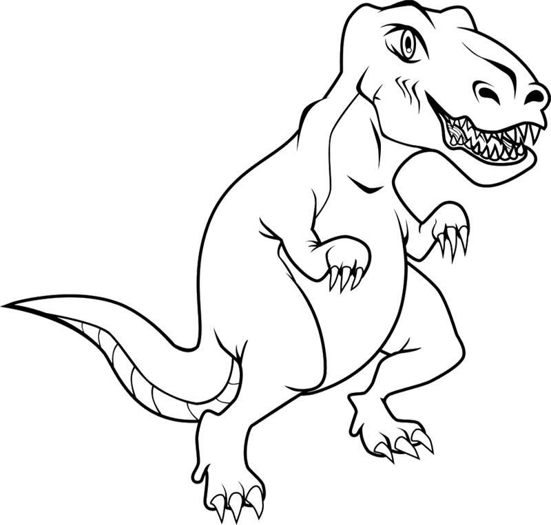 Images de Tyrannosaurus Rex à imprimer