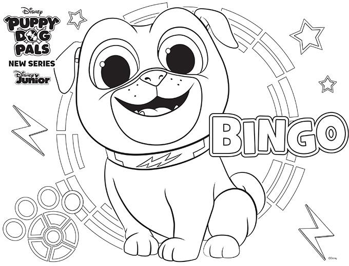 Bingo à colorier Pdp