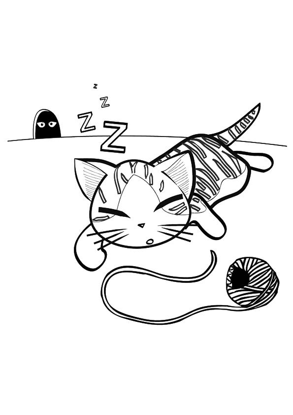 image de chaton imprimable