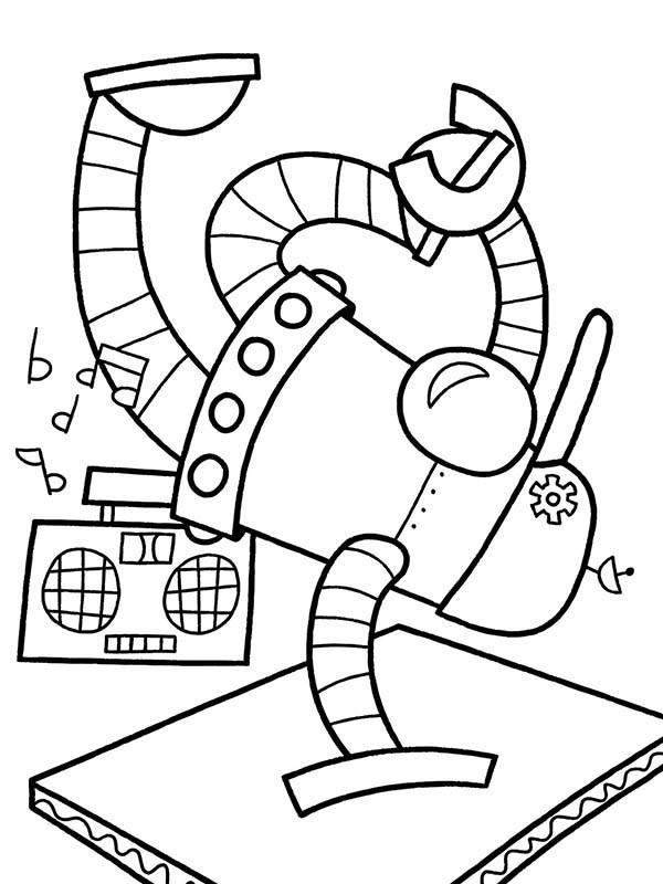 Coloriage robotique