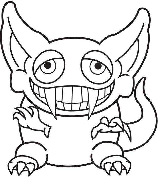 Coloriage gobelin dessin animé