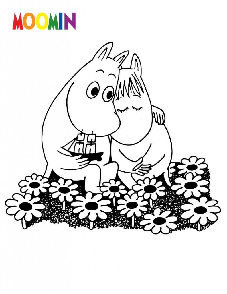 Coloriages de dessins animés gratuit à imprimer et colorier