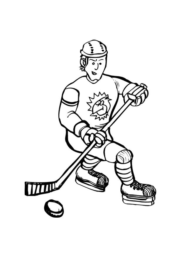 Pages couleur de hockey