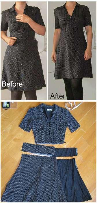 Comment reprendre une robe trop étroite