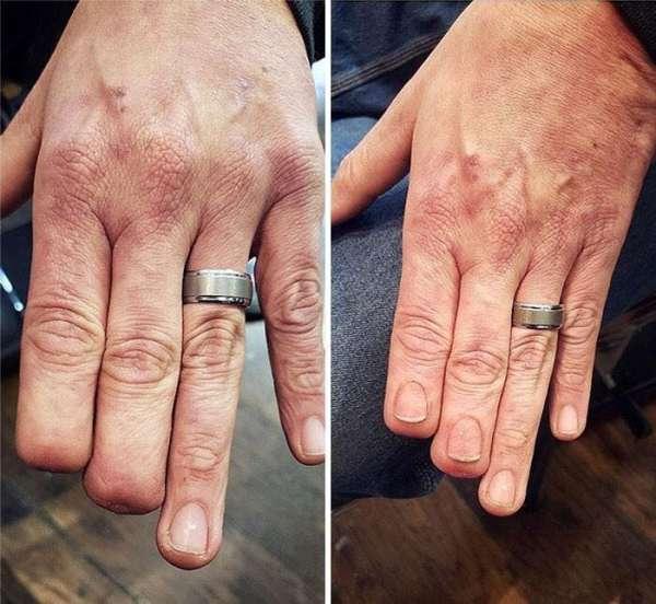 Des ongles tatoués qui ressemblent à des vrais