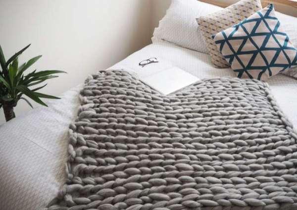 Donnez un côté cosy à votre chambre avec un plaid
