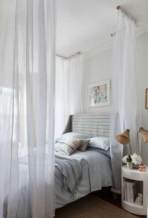 Fabriquez un baldaquin pour votre lit