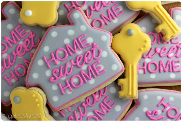 Faites des cookies pour les petits gourmands sous le thème de la pendaison de crémaillère