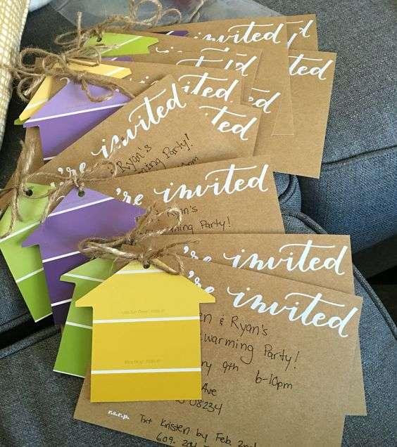 Faites vos propres invitations avec une touche personnalisée pour chaque invité