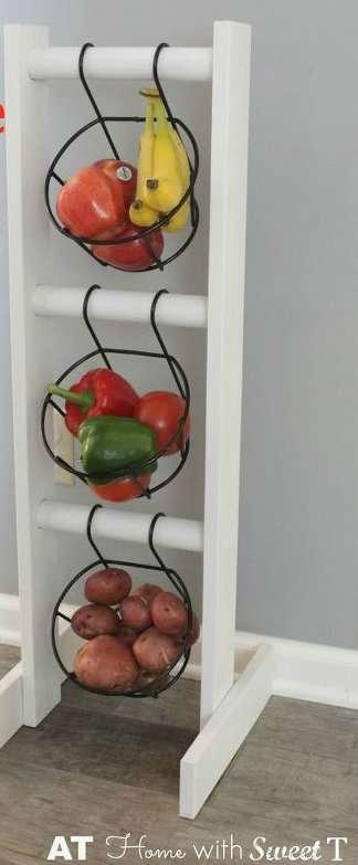 Faites votre propre rangement pour vos fruits et légumes
