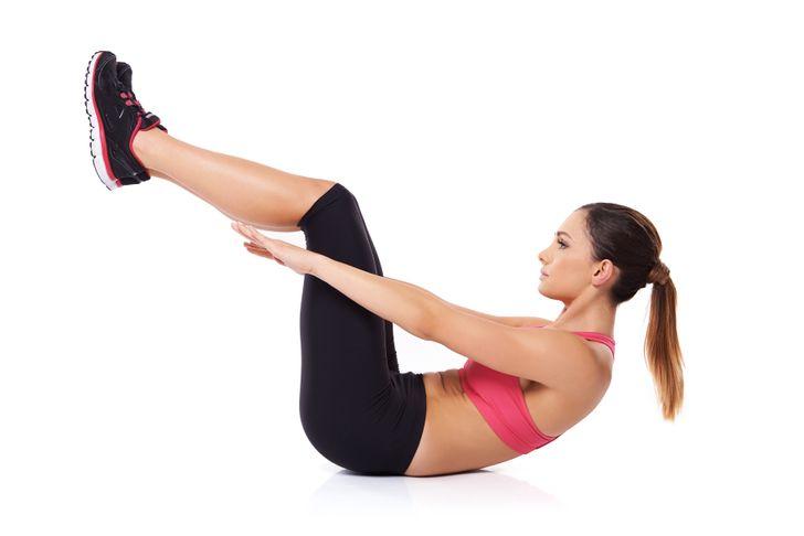 Flexion complète du corps