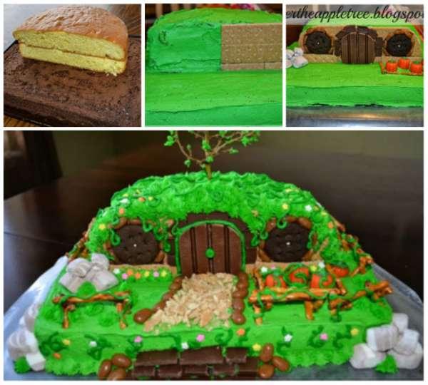 Gâteau maison de Hobbit