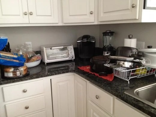 Jour 2 : Videz le comptoir de cuisine
