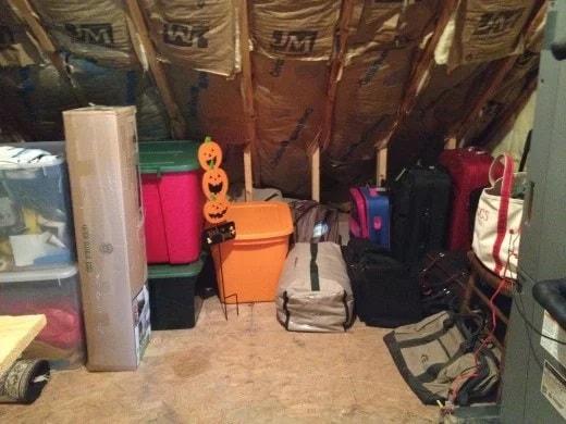 Jour 6 : Occupez-vous du grenier et du sous-sol
