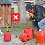 L'astuce d'un garagiste pour siphonner un réservoir sans aspiration !