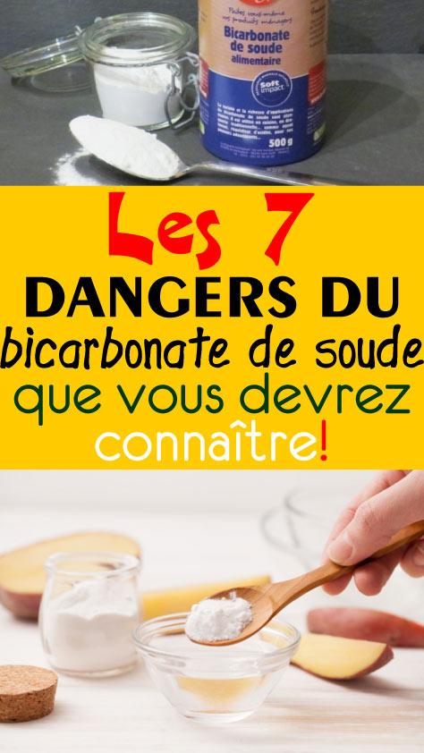 Les 7 dangers du bicarbonate de soude que vous devrez connaître!