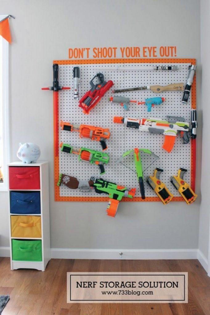 Les pistolets Nerf