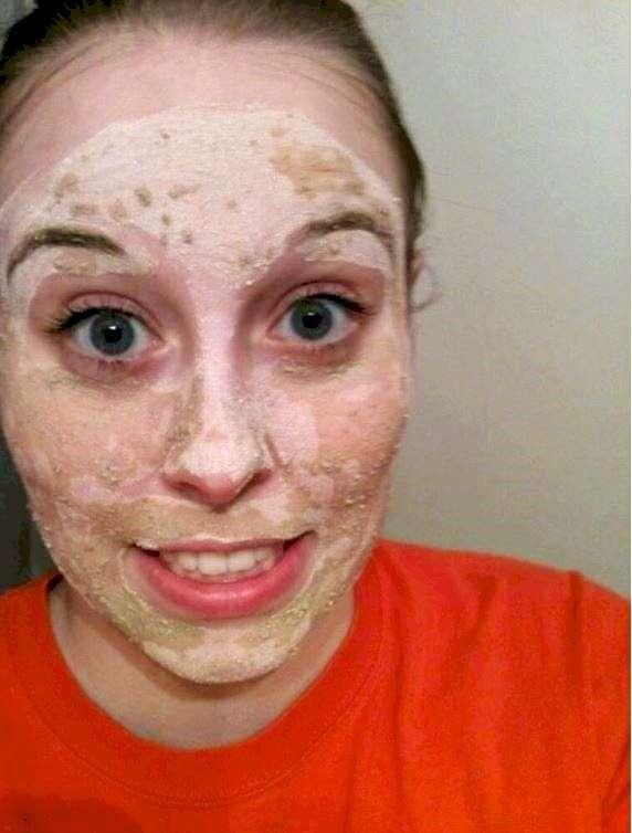Ne remplacez pas votre masque d'argile avec de la litière pour chat