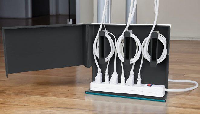 Organisez vos câbles et multiprises avec ce boîtier