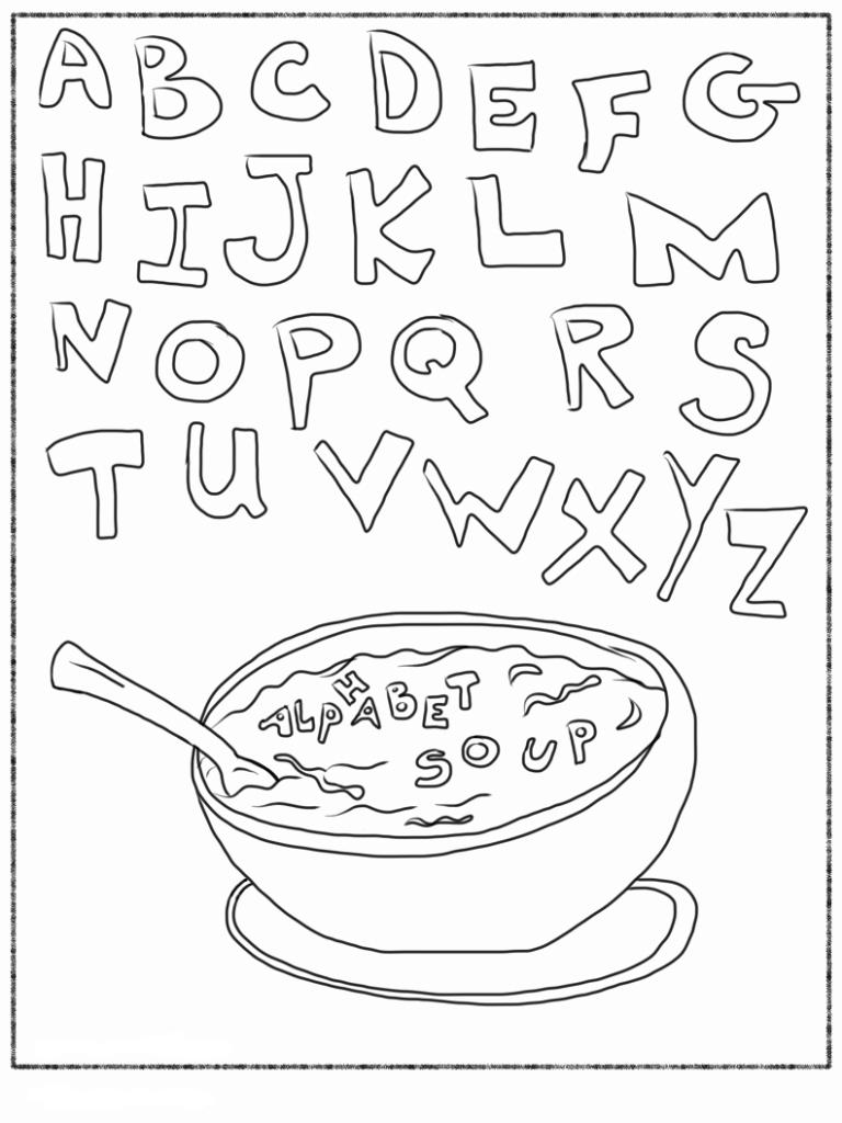 feuilles de calcul alphabet