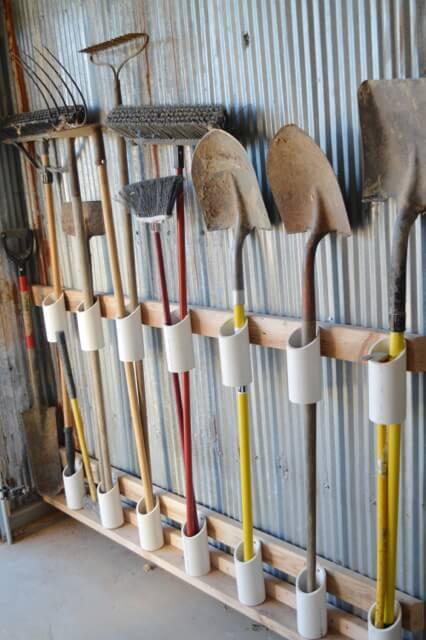 Pensez aux tuyaux en PVC pour vos outils de jardinage