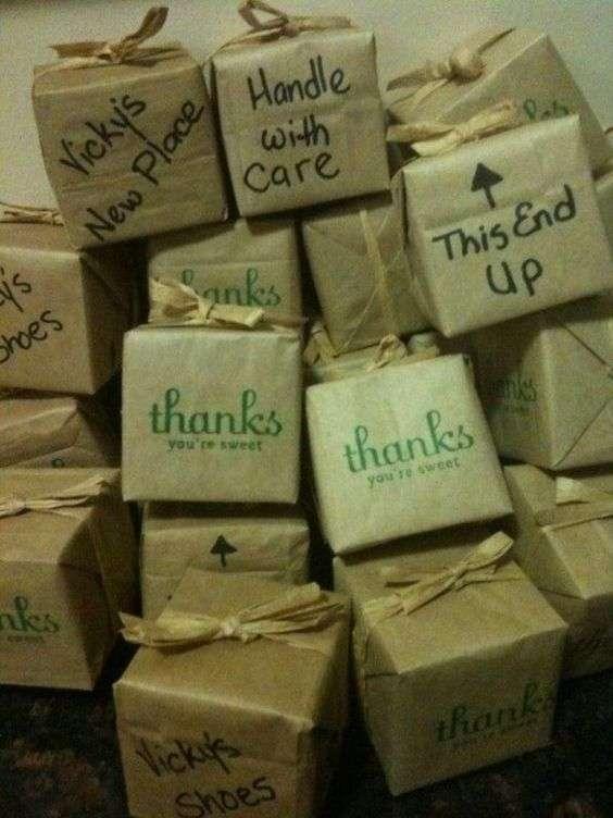 Préparez des cadeaux à emporter à la fin de la soirée pour vos invités
