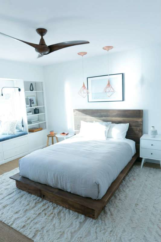 Refaites votre lit en utilisant du bois recyclé