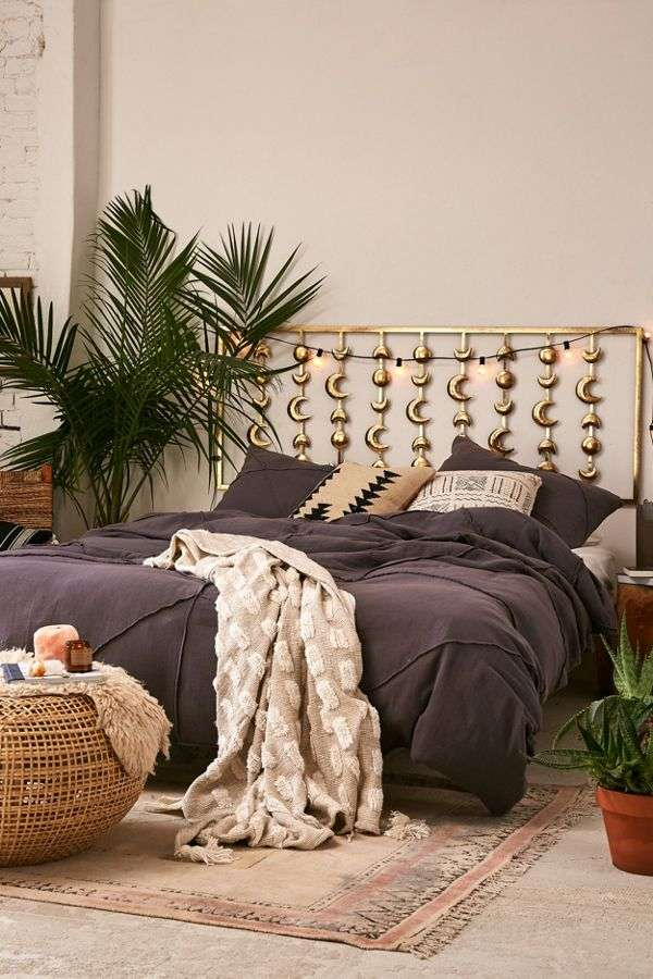 Tête de lit style boho