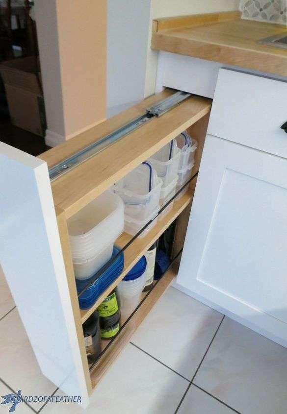 Transformez un panneau de remplissage en tiroir coulissant