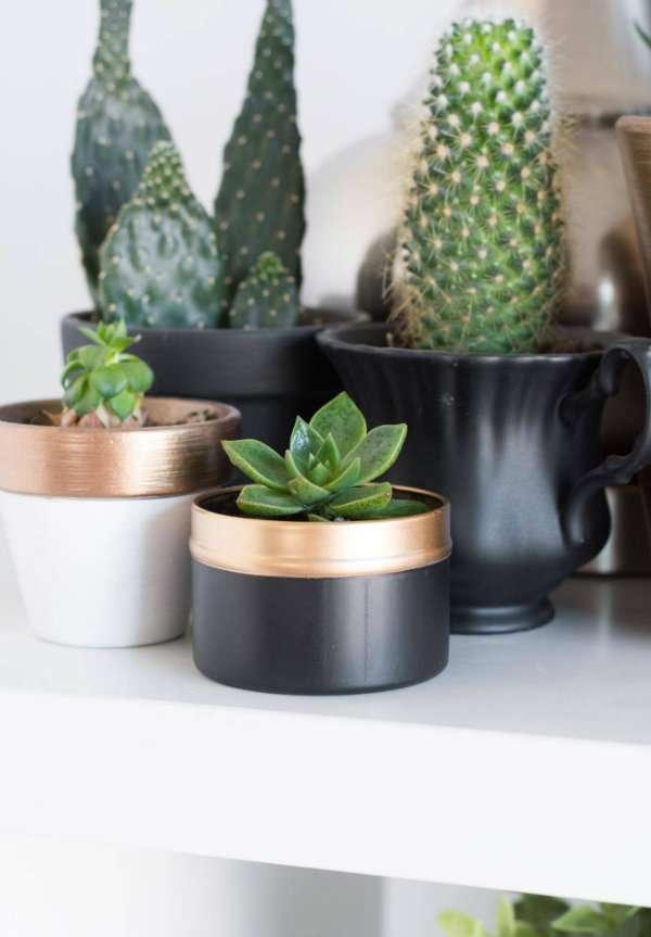 Transformez une boîte à thé en un joli petit pot personnalisé