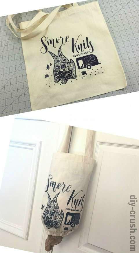 Un distributeur de sac en plastique très pratique