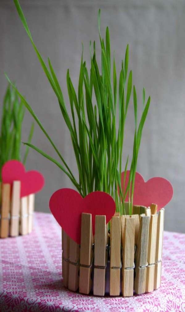 Un mini pot de fleurs DIY en moins de 5 minutes
