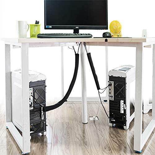 Utilisez ce cache-câbles flexible si vous avez beaucoup de fils