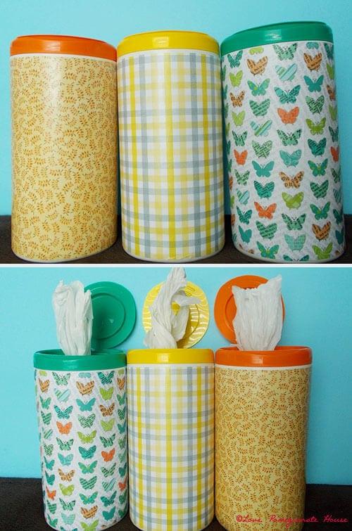 Utilisez-les également pour vos sacs plastiques