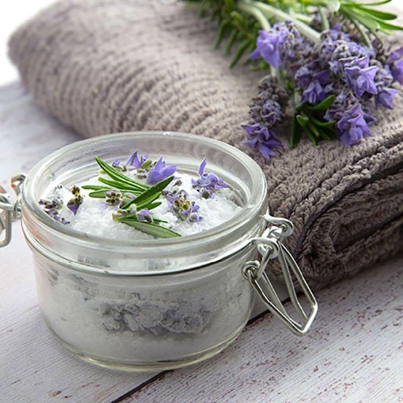 recette magique des sels de bain ANTI-STRESS