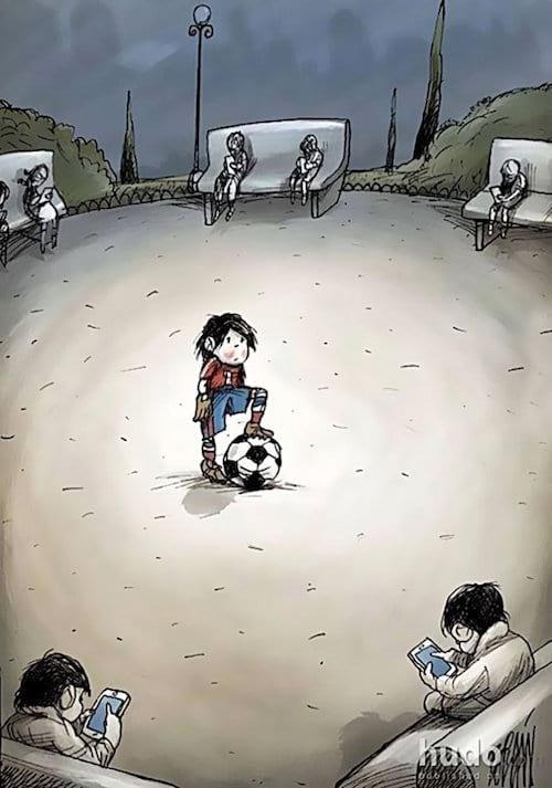 smartphone-enfant-foot
