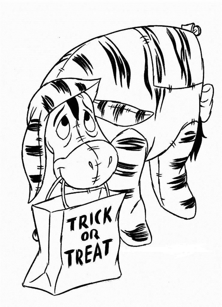 Coloriage d'Halloween à colorier