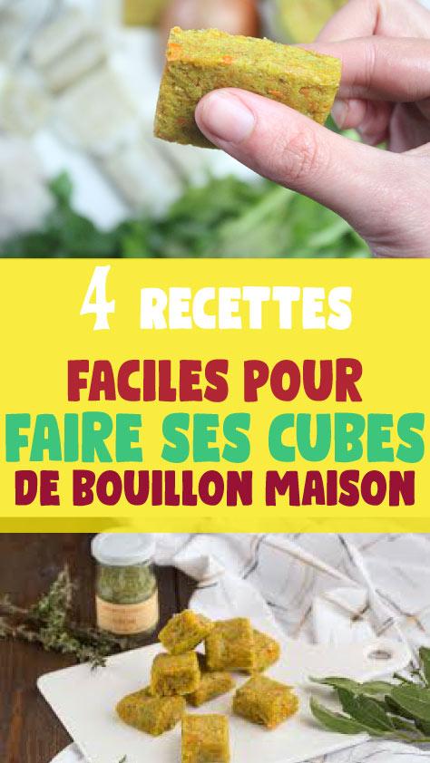 4 Recettes faciles pour faire ses cubes de bouillon maison